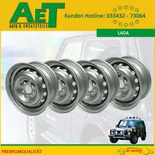 4X LADA 2101-2107 Felge Stahlfelge 5 J x 13 Zoll 2103-3101015
