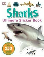 Sharks Ultimate Sticker Book by DK 9780241247266 | Brand New | Free UK Shipping