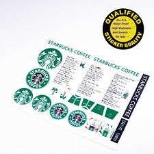 Custom sticker for LEGO 3438 Starbucks, for MOC building etc, Premium quality