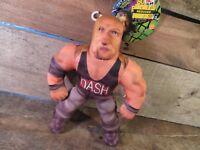 "Body Bashers KEVIN NASH 8"" Wrestling Toy Biz WCW / NWO w/Tag"