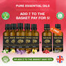 Essential Oil Pure 50ml Natural Aromatherapy Oils Organic Fragrances Diffuser