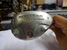 TaylorMade Rescue Dual 22° #4 Hybrid Origianl Steel Extra Stiff Flex