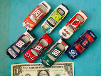 Winners Circle Action NASCAR scale 1:64 loose lot of 7 cars #88, #8, #20 & #5