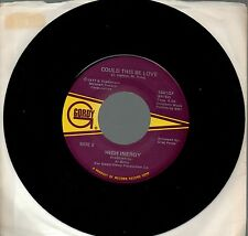 HIGH INERGY disco 45 g. MADE in USA Could this be love + Journey to love 1982