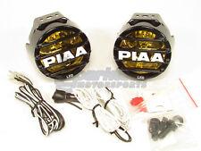 PIAA LP530 LED Ion Yellow Driving Beam Kit Fog Lights Lamp 2500K 9.4W 22-05372