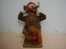 Vintage Battery Operated High Jinks Circus The Clown 1960's Cragstan Toy Works