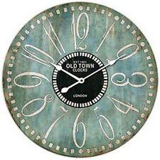 "Extra, Extra Large Retro Shabby Chic Wall Clock. 58cm Diameter (22"" +) 7085"