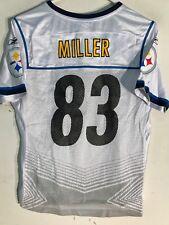 Reebok Women's NFL Jersey Pittsburgh Steelers Heath Miller White Super Bowl sz M