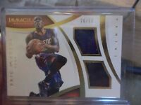 2014 - 15 PANINI IMMACULATE ERIC BLEDSOE  # DM-EB  20/99 DUAL SWATCH