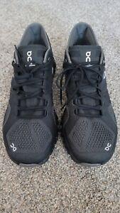 On Cloud X Mens Running Shoe Lightweight Training Black Asphalt Gray US 9