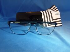 0401572079e Women s Lulu Guinness Eyeglass Frame L 782 Teal Metal 55-16-135