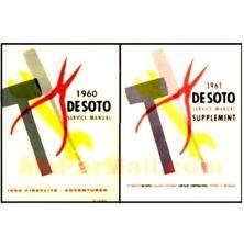 Factory Shop - Service Manual Set for 1960-1961 DeSoto