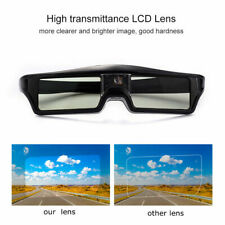 Universal Active Shutter 3D Glasses for BenQ Optoma CAIWEI DLP-Link Projector US