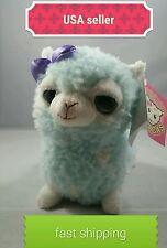 "5.75"" alpacas Plush HOT TOPIC New color cotton candy single female alpaca!!!"