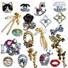 NAIL CHARMS 3D CHARM DECORATION RHINESTONE Diamond Jewellery Gems Metal Dangling