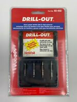 Drill-Out® 80-450 4pc Micro Broken Bolt & Screw Extractor Kit