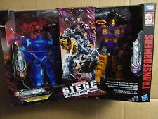 Transformers Generations War For Cybertron Deluxe Fan Vote Battle 3 pack