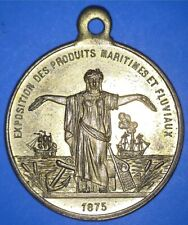 1875 WORLD EXHIBITION OF MARITIME AND RIVER PRODUCTS - PARIS FRANCE - *73342012