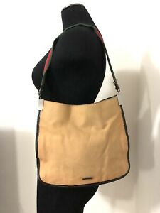 Authentic GUCCI Sherry Line Vintage Shoulder Women Purse Tote Bag Handbag - RARE