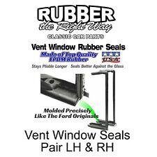 1955 Ford Mercury Vent Window Seals Pair LH & RH