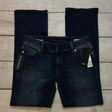 Mavi Malin Mid Rise Jeans Size W32 L32 Womens Boot Cut Button Flap Pockets