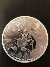 2018 1 oz New Zealand Silver Niue $2 Disney Scrooge McDuck (BU) Gift idea!