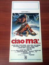 CIAO MA' locandina poster Vasco Rossi Claudia Gerini Curi Palasport di Roma W73
