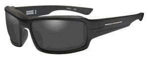 Harley-Davidson Herren Cruise 2 Dichtung Sonnenbrille Grau Objektiv/Schwarz Frames hacrs 01