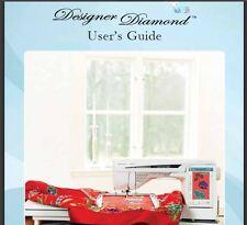 HUSQVARNA VIKING USER'S GUIDE  MANUAL FOR DESIGNER DIAMOND  PDF on CD