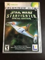 Star Wars Star fighter Special Edition Platinum Hit Xbox
