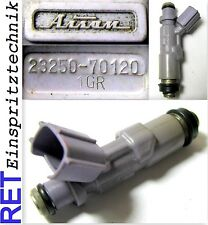Einspritzdüse Injector 23250-70120 Lexus IS 200 2,0 gereinigt & geprüft