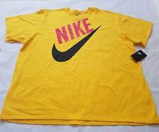 Men's Nike Swoosh Athletic Logo Graphic T-Shirt, Size 3XL, New