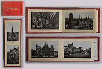 Erinnerungen an Danzig 14 Ansichten in Fotolithograpie Leporello um 1880 sf