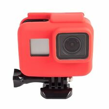 Case Go pro for Hero 4 Cover Rubber Silicone Protective Housing 8 Colours