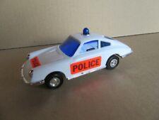 411J Jouet Ancien à Friction Porsche 911 Police L 13,3 cm