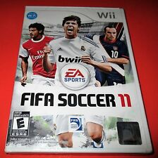 FIFA Soccer 11 Nintendo Wii *Factory Sealed! *Free Shipping!
