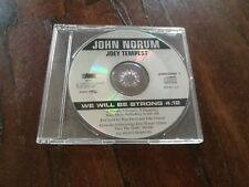 John Norum & Joey Tempest / Europe - We Will Be Strong Cd Raro Promo Near Mint
