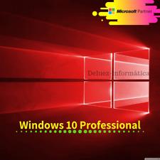 Windows 10 Pro 32/64 licencia original multilenguaje, envió instantáneo