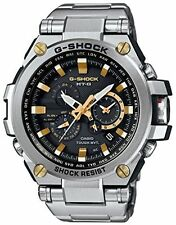 Casio Mens G-Shock Twisted Metal MB6 Triple-G S/S Gold Accen Watch MTGS1000D-1A9