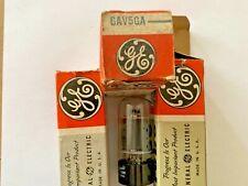 6AV5GA GE vacuum tube (Lot of 3 Tubes)