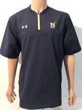 NEW Naval Academy Midshipman Under Armour Men's Large Storm Cage Jacket 1/4 Zip