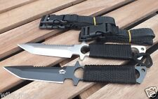 2 x Scuba Diving, Snorkelling Spearfishing Outdoor WILCOMP Knives WIL-DK-05S