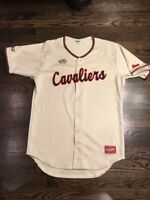 Game Worn Used Virginia Cavaliers UVA Baseball Jersey Size 44  #41