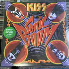 Kiss Sonic Boom LP Colored Vinyl
