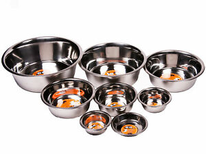 GoGo® Stainless Steel Dishes - Standard