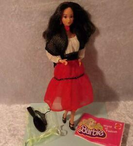 Vintage 1979 Hispanic Barbie 1st Hispanic Barbie w/Steffie Face Near Complete
