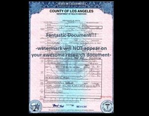 George Harrison DEATH CERTIFICATE,Beatle's Great, Guitar Hero to Many, Died 2001