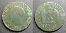 Napoléon III, 5 centimes 1856 MA (Marseille)