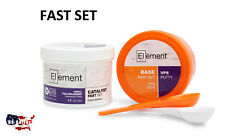 ELEMENT PUTTY FAST Set VPS PVS Dental Impression 300 ML Base & Catalyst NO BOX