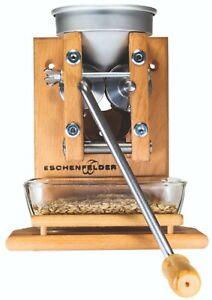 Korn-Quetsche Wandmodell Alurichter mit Glasschale Eschenfelder am Lager